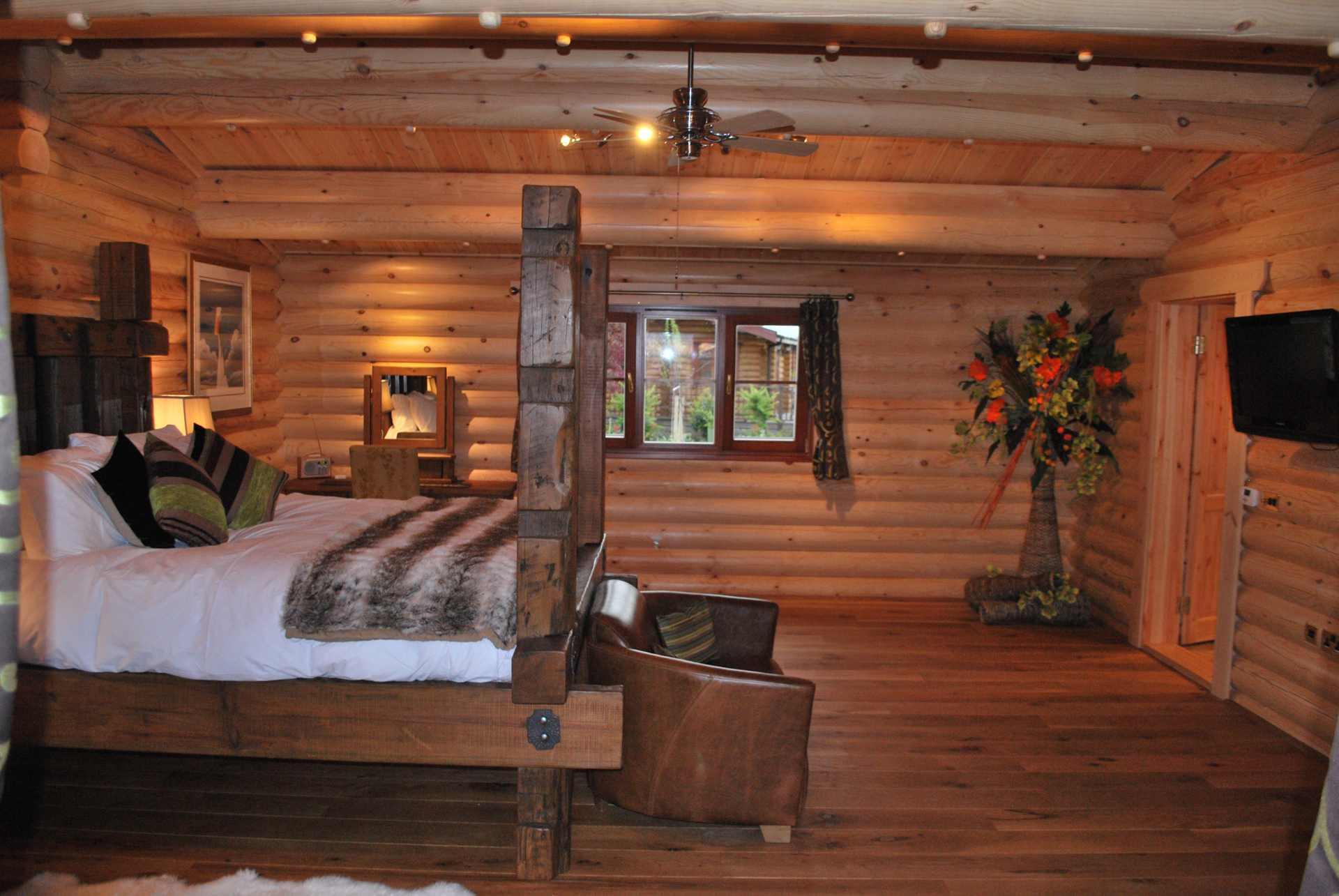 cherry lodge eyekettleby lakes bedroom