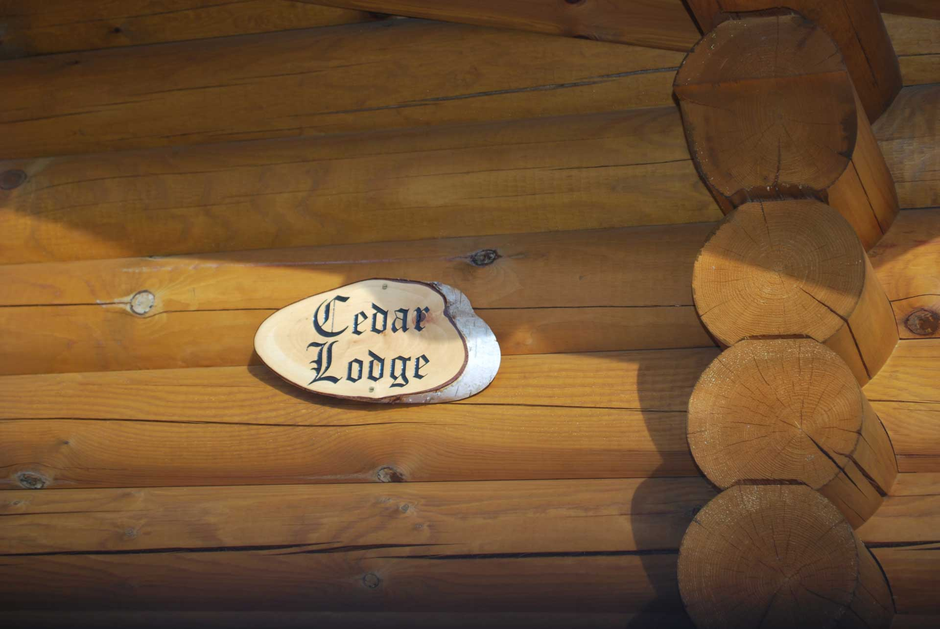 Cedar Lodge Eye Kettleby Lakes Name