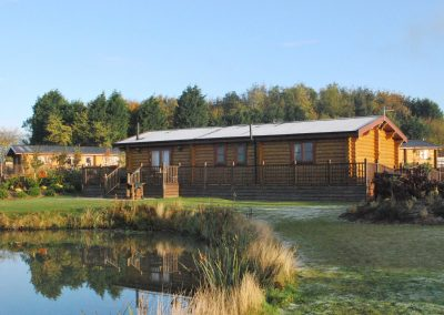 Chestnut Lodge Eye Kettleby Lakes Winter