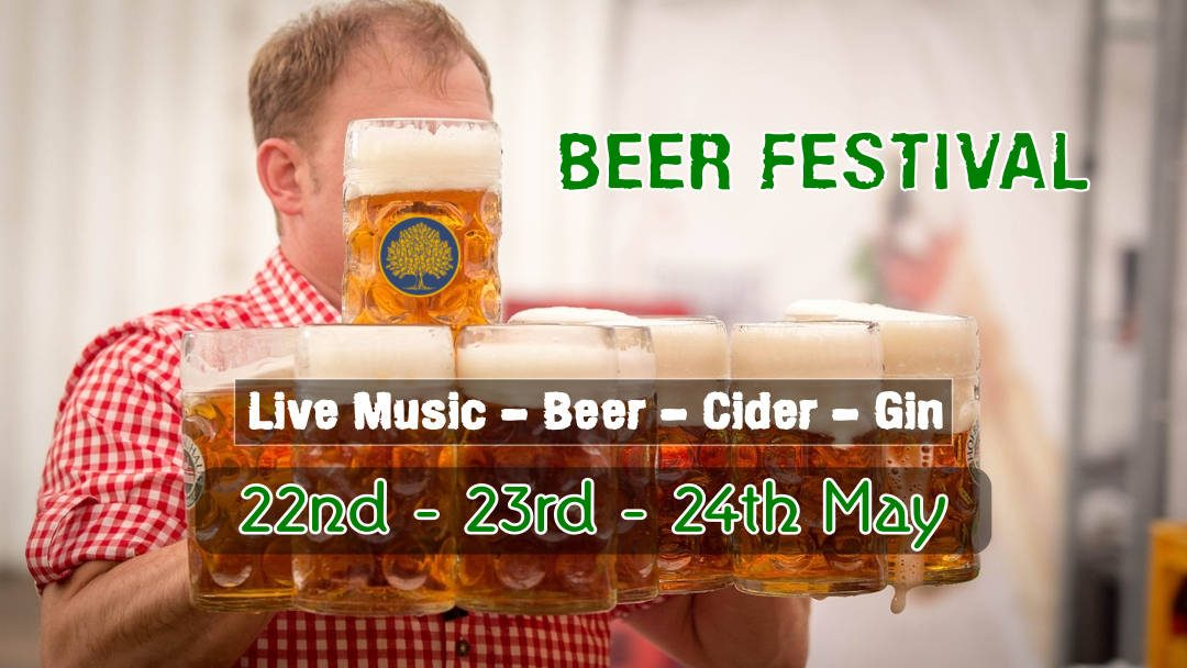 May 24th – Beer Festival