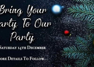 Dec 14th – Xmas Party